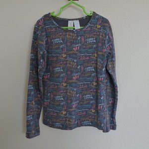 Paint By Numbers Girl's Long Sleeve - 8